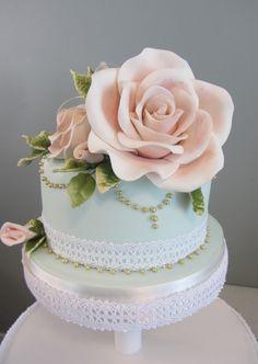 Xlarge Rose cake