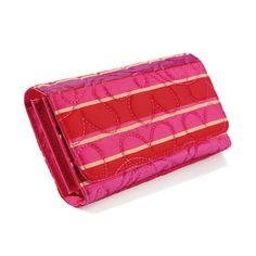 "Avon Exclusive! While Supplies Last. Large tri-fold wallet in bright, bold colors. Approximately 7"" x 3-3/4""."