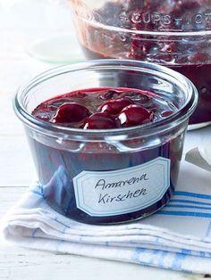 Ein Klassiker zu Eis und Desserts. #kirschen #einmachen #einkochen