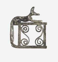 Amulet of Anubis on his Shrine Period: Middle Kingdom Dynasty: Dynasty 12, late–early 13 Date: ca. 1850–1775 B.C. Geography: From Egypt