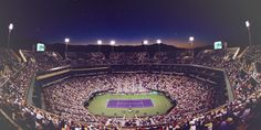 Night matches at the BNP Paribas Open