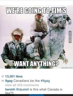 "I like the comment ""is this what Canada is like!?!?!"" Cause yes,yes it is"