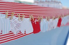 Cute swimshort bunting