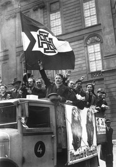 Propaganda Volksabstimmung- Austria 1938, pin by Paolo Marzioli