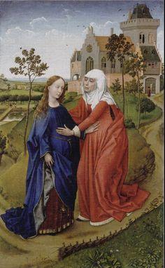 """"""" L'Annonciation """" Rogier van der Weyden"""