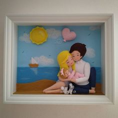 New Photo Frame, Soft Wallpaper, Dolce, Tweety, Biscuit, Character, Home Decor, Happy Family, Felt Dolls