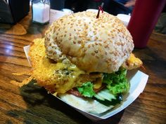 Damn I miss Squeeze Inn Burgers...the best in Sactown for sure! mmmmm