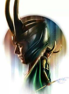 Loki. God of mischief. .