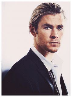 Chris Hemsworth, GQ Australia Men of the Year issue 2012. Aww... good for him!!! :)