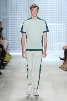 Spring-Summer 2014 Show (Photo credit: Lacoste/Yannis Vlamos) Summer 2014, Spring Summer, Lacoste, Photo Credit, Normcore, Menswear, My Style, T Shirt, Design