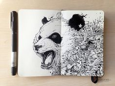 25 Magically Doodles Artworks by Kerby Rosanes