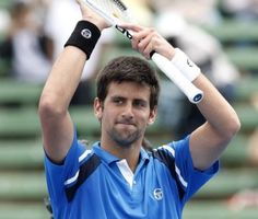When no hoops are on, I watch tennis matches... Novak Djokovic is the funniest guy to ever grace the court! Love it that a Serbian is #1.