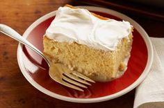 "Tres Leches Rum Cake recipe - ""Tres leches"" means three milks. Our version ups the ante with sour cream plus a splash of rum and a dash of nutmeg for a super-moist, delicately delicious dessert.     Enter the COOL WHIP Pin & Win Sweepstakes! Get started by pinning your favorite COOL WHIP recipe and you could win the $500 Grand Prize!  Visit www.kraftrecipes.com/CoolWhipSweepstakes for complete details. #DollopDays #PinandWin"