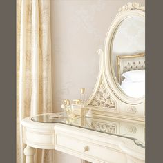 Parisian Cream Dressing Table from French Bedroom Company