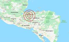 Un sismo de magnitud 3,7 Richter sacude el norte de Honduras sin daños