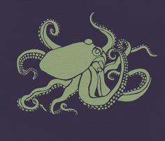 Large OCTOPUS Wall STENCIL, Reusable EASY Wall DECOR Interior Design
