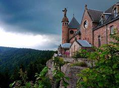 ✅ Abbaye de Hohenbourg - Ottrott (67) #France #Alsace