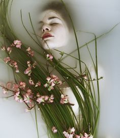 (pic source: The Green Gallery - Flowers - Portfolio Monia Merlo) // underwater photography with flowers Milk Bath Photography, Underwater Photography, Fine Art Photography, Portrait Photography, Photography Flowers, Fashion Photography, Dream Photography, Artistic Photography, Photography Women