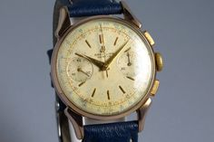 1950's Gold Shell Breitling Chronograph 1193