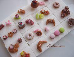 food miniatures fondant