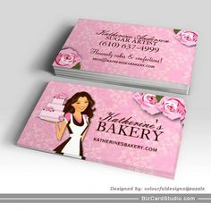 Business Card Showcase by Socialite Designs: Bakery Business Cards ...