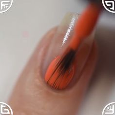 📽Halloween nail art design with stamp plate ÜC UberChic Beauty … - Beauty Tips & Tricks Halloween Nail Designs, Halloween Nail Art, Cute Nail Designs, Diy Nails, Cute Nails, Nail Nail, Nail Design Video, Nails Design, Salon Design