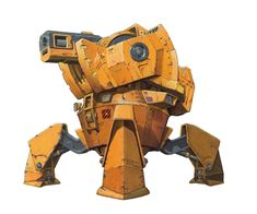 Fortius mining mech from the Baxter Mining Corp by ~rocketben on deviantART