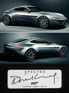 ✨ James Bond Spectre Aston Martin :::::::::: No. 10 of 10 ✨ James Bond Spectre Aston Martin :::::::::: No. 10 of 10 Aston Martin Db10, Aston Martin Vulcan, Aston Martin Cars, Estilo James Bond, Sports Car Photos, Honda Cbr, James Bond Cars, Mc Laren, Muscle Cars
