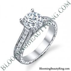 .65 ctw. 14K Gold Diamond Engagement Ring – nrd555
