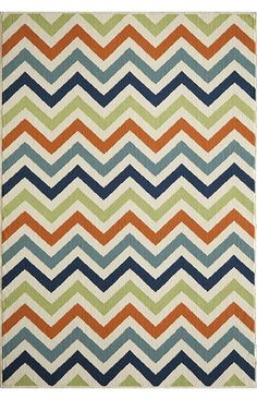 Shop for Momeni Baja Chevron Multicolor Indoor/Outdoor Area Rug - Multi - x Get free delivery On EVERYTHING* Overstock - Your Online Home Decor Store! Chevron Area Rugs, Striped Rug, Indoor Outdoor Area Rugs, Outdoor Living, Office, Contemporary Rugs, Graphic Patterns, Chevron Patterns, Runes