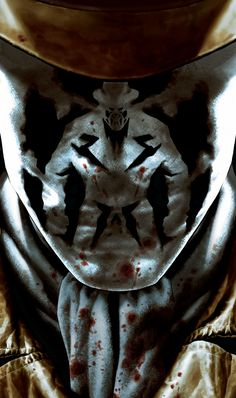 Rorschach: (Walter Joseph Kovacs) Rorschach is a violent anti-hero detective. He wears a constantly shifting inkblot mask which he considers to be his true face. He is known to possess zero tolerance for moral deviance or criminality, labeling him as an extremely right-wing character by others.