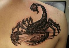 #scorpion #tattoo #tattoos #ideas #designs #men #formen #menstattooideas