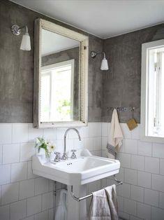 Keltainen talo rannalla Diy Bathroom Decor, Bathroom Colors, Bathroom Interior Design, Colorful Bathroom, Bathroom Designs, Bathroom Ideas, Bathroom Inspiration, Interior Design Inspiration, Design Ideas