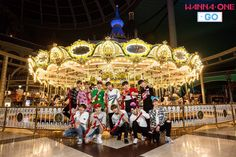Wanna One Go season 1 Miss U So Much, Lotte World, Guan Lin, Ha Sungwoon, Day Of My Life, 3 In One, Amusement Park, Jinyoung, Solar Power