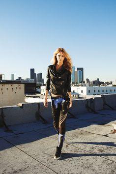 Balenciaga / Skyline Frankie B. — Amy photographed by Steven Meiers