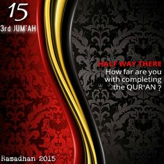 Ramadhan2015#15roza#3rdJumah