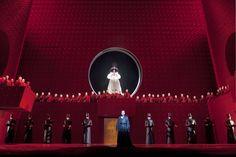 Turandot from Teatro alla Scala. Production by Nikolaus Lehnhoff. Sets by Raymond Bauer.
