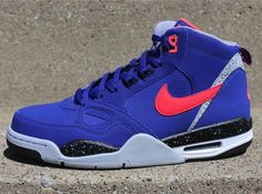 "Nike Flight 13 Mid ""Deep Royal"""
