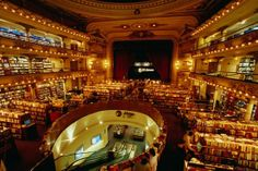 A grand old theatre converted into a library!