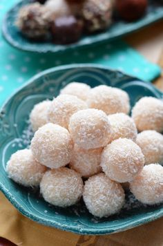 Csupa kókusz kókuszgolyó diétás