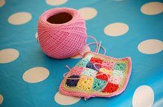 crochet patchwork ♥
