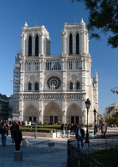 Notre Dame Cathedral, PARIS ~ must go back!! <3
