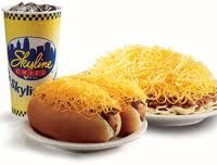 Skyline Chili.....3, 4, or 5 Ways and Coney Islands.  This is a Cincinnati & Northern Kentucky speciality.  We grew up on this chili and carve it forever.