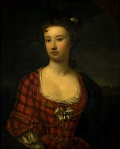 1750 Flora MacDonald painted by William Robertson