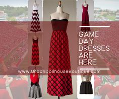 Game day dresses and outfits!