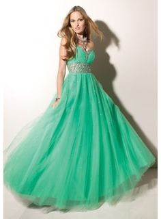 Mint Green Sequin Dress