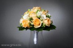 Svadobné kytice   Ginka s.r.o. - aranžovanie, svadobné kytice, smútočné vence a kytice