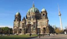 Berlin Cathedral (German: Berliner Dom) is the short name for the Evangelical Supreme Parish and Collegiate Church (German: Oberpfarr- und Domkirche zu Berlin) ... Get more information about the Berlin Cathedral on Hostelman.com #attraction #Germany #landmark #travel #destinations #tips #packing #ideas #budget #trips
