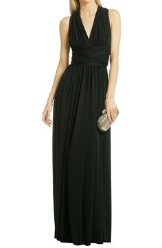 Flowerry Women Black Jersey Convertible Bridesmaid dresses Wedding Party Dress -- Trust me, this is great! Click the image. : Bridesmaid Dresses
