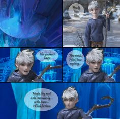 77 Wisdom Guardian [Jack Frost x Elsa] by angeltorchic.deviantart.com on…